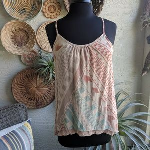 Anthropologie 🌿 Dolan S Silk tank top